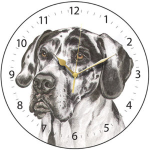 Great Dane Dog Clock