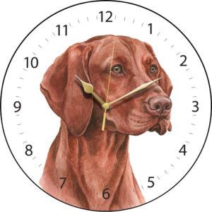 Hungarian Vizsla Dog Clock