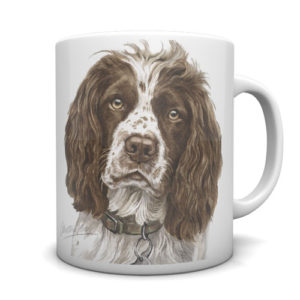 Springer Spaniel Ceramic Mug by Waggydogz