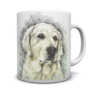 Golden Retriever Ceramic Mug by Waggydogz