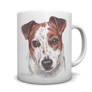 Jack Russell Ceramic Mug by Waggydogz