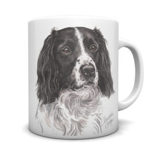 Springer Spaniel Ceramic Mug by Waggydogz