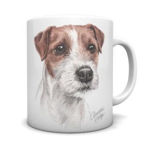 Parson Jack Russell Ceramic Mug by Waggydogz