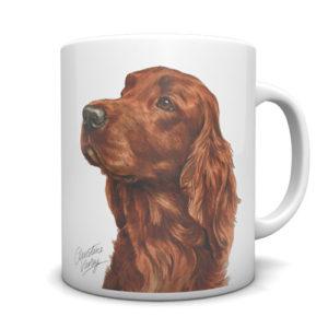 Irish Setter Ceramic Mug by Waggydogz