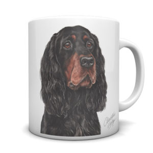 Gordon Setter Ceramic Mug by Waggydogz