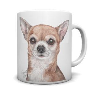 Chihuahua Ceramic Mug by Waggydogz