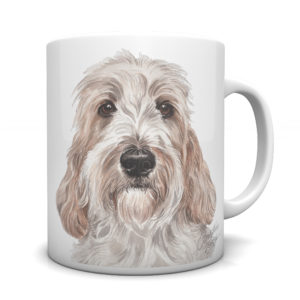 Petit Basset Griffon Vendeen Ceramic Mug by Waggydogz