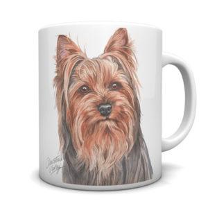 Yorkshire Terrier Ceramic Mug by Waggydogz