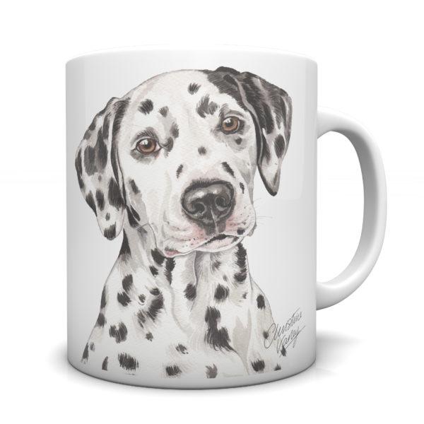 Dalmatian Ceramic Mug by Waggydogz