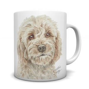 Cockapoo Ceramic Mug by Waggydogz