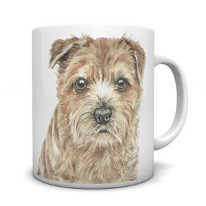 Norfolk Terrier Ceramic Mug by Waggydogz
