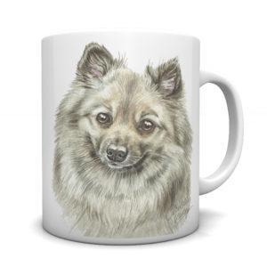 German Spitz Ceramic Mug by Waggydogz