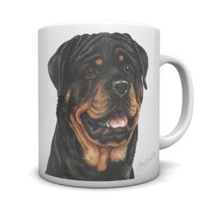 Rottweiler Ceramic Mug by Waggydogz