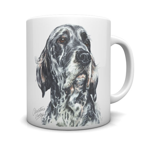 English Setter Ceramic Mug by Waggydogz