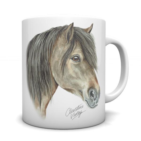 Shetland Pony Ceramic Mug by Waggydogz