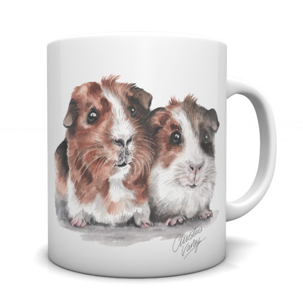 Guinea Pigs Ceramic Mug by Waggydogz