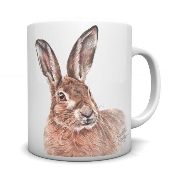 Hare Ceramic Mug by Waggydogz