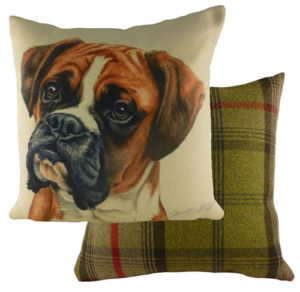 Boxer Dog Cushion