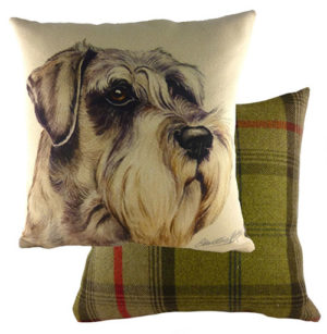 Schnauzer Dog Cushion