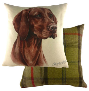 Hungarian Vizsla Dog Cushion