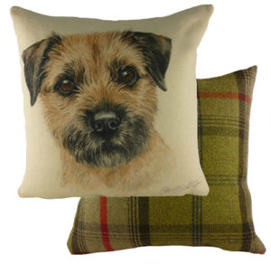 Border Terrier Dog Cushion