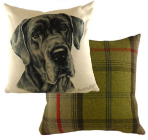 Great Dane Dog Cushion