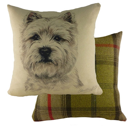 West Highland Terrier Dog Cushion