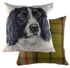 Springer Spaniel Dog Cushion