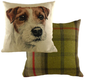 Parson Jack Russell Dog Cushion