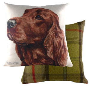 Irish Setter Dog Cushion