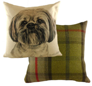 Lhasa Apso Dog Cushion