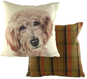 Labradoodle Dog Cushion