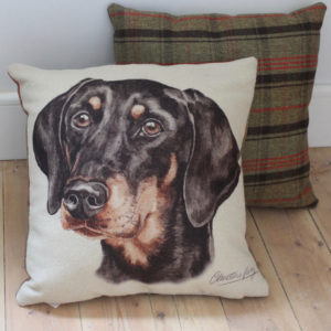 Doberman Dog Cushion