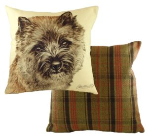 Cairn Terrier Dog Cushion