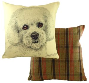 Bichon Frise Dog Cushion