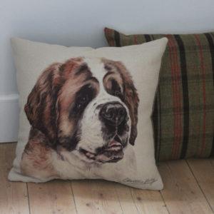 St. Bernard Dog Cushion