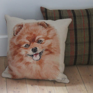 Pomeranian Dog Cushion