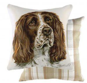 Springer Spaniel Dog Cushion