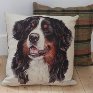 Bernese Mountain Dog Cushion