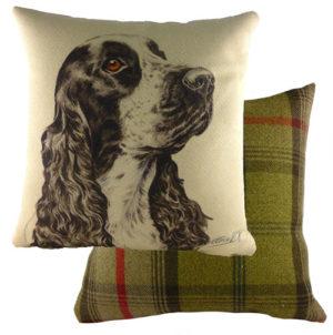 Cocker Spaniel Dog Cushion