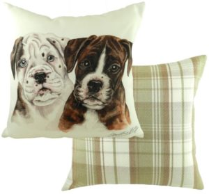 Boxer Puppies Cushion