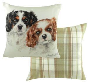 Cavalier King Charles Spaniel Puppies Cushion