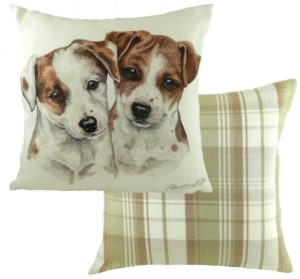 Jack Russell Puppies Cushion