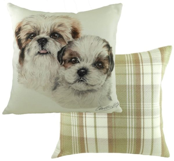 Shih Tzu Puppies Cushion