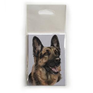 Fridge Magnet Dog Breed Gift featuring German Shepherd