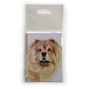 Fridge Magnet Dog Breed Gift featuring Chow Chow