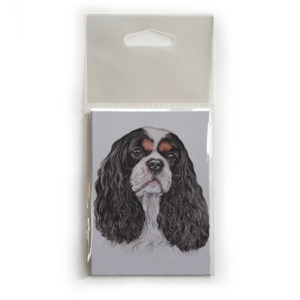 Fridge Magnet Dog Breed Gift featuring Cavalier King Charles Spaniel