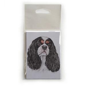Fridge Magnet Dog Breed Gift featuring Cavalier King Charles Spaniel