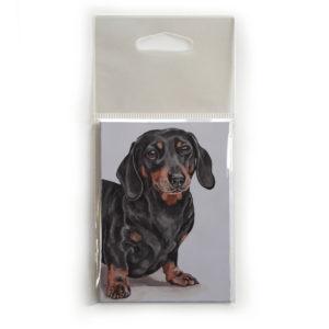 Fridge Magnet Dog Breed Gift featuring Dachshund