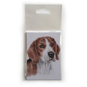 Fridge Magnet Dog Breed Gift featuring Beagle